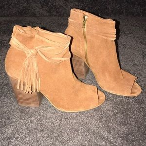 Steve Madden brown suede boots